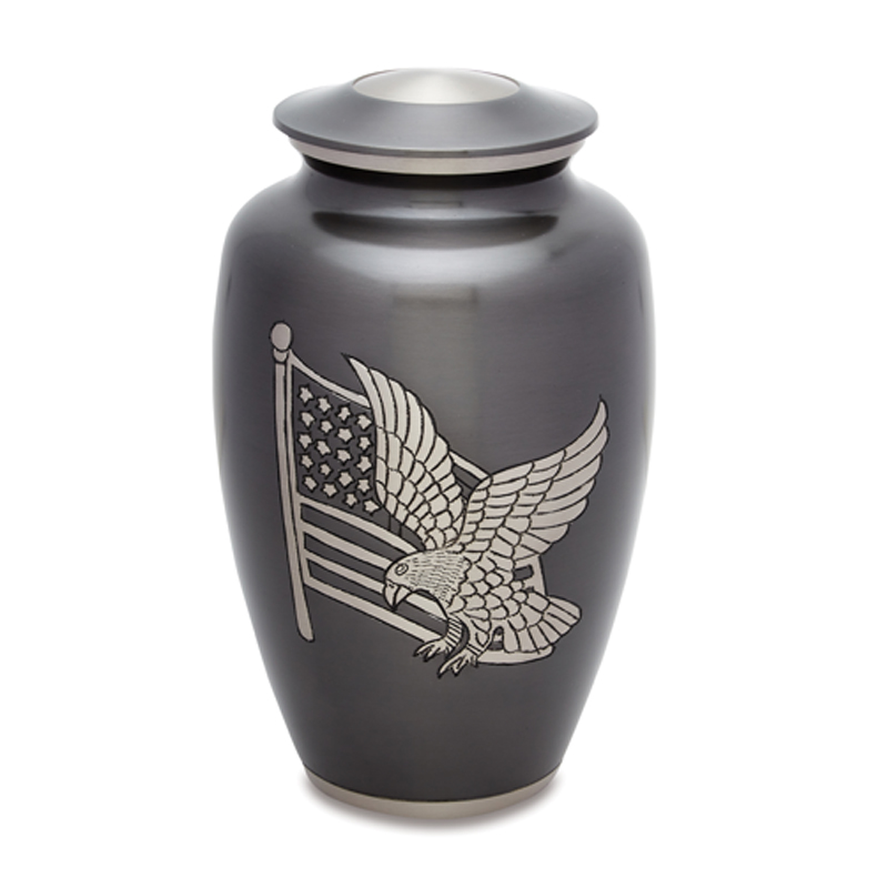 AMP Aluminum Adult Urn with blemish