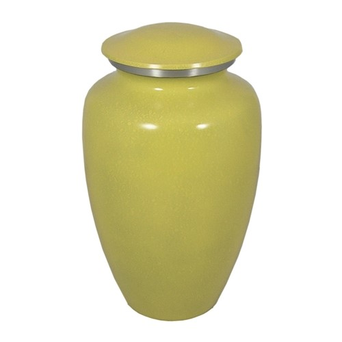 Sunflower Yellow Adult Urn