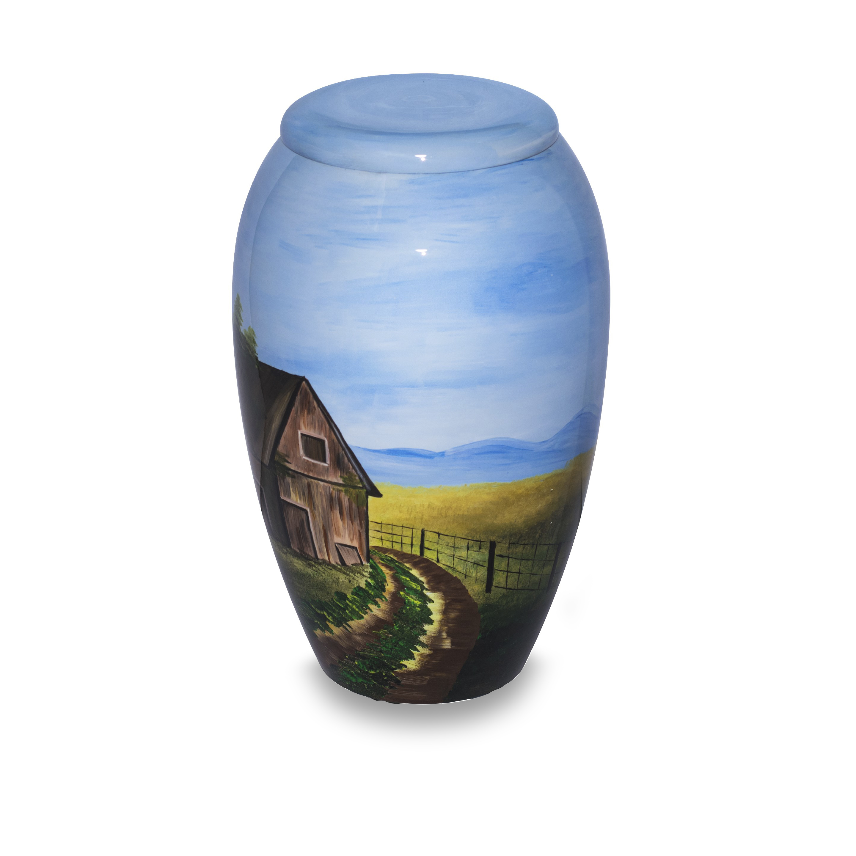 Country Road Adult Urn